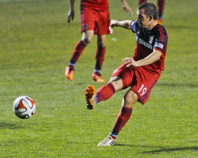 2014 MLS U.S. Open Cup: Jun 18, Pittsburgh Riverhounds vs Chicago Fire - Harrison Shipp