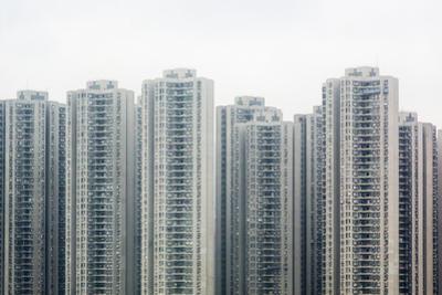 Apartment Blocks in Hong Kong by Matt Mawson