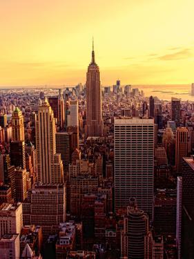 New York - Magic Hour at Top of Rock by Matt Pasant