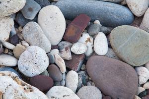 Stones on the Beach at Bathsheba, Barbados Island by Matt Propert
