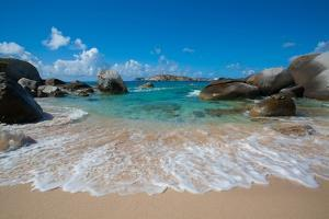 The Baths' Beach on Virgin Gorda by Matt Propert