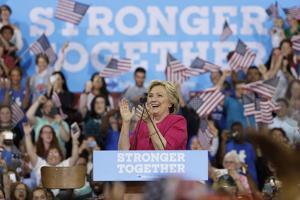 Campaign 2016 Clinton Kaine by Matt Slocum