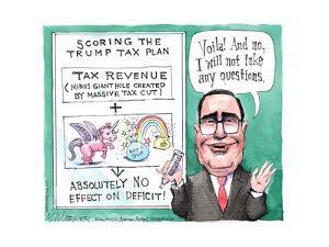 Scoring the Trump Tax Plan. by Matt Wuerker