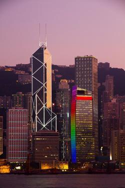 Hong Kong Sky Line by Matteo Cerreia Vioglio