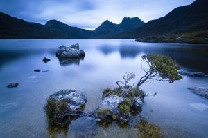 Cradle Mountain National Park, Tasmania, Australia. Dove Lake at Sunrise by Matteo Colombo