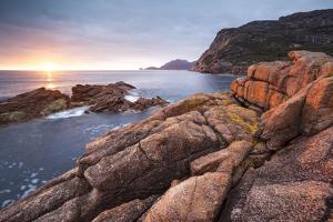 Freycinet National Park, Tasmania, Australia. Sunrise over the Coastline by Matteo Colombo