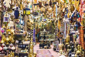 Oman, Muscat. Shop in the Old Mutrah Souk by Matteo Colombo