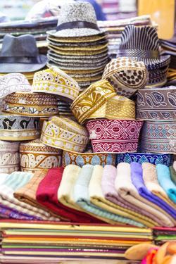 Oman, Muscat. Souvenirs for Sale at a Shop in the Old Souk of Mutrah by Matteo Colombo