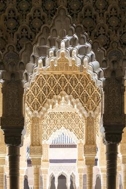 Spain, Andalusia, Granada. the Alhambra by Matteo Colombo