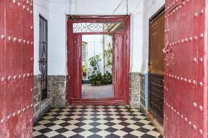 Spain, Andalusia, Malaga Province, Marbella. Entrance to an Old House by Matteo Colombo