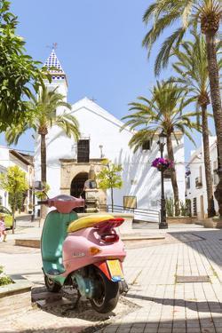Spain, Andalusia, Malaga Province, Marbella. Ermita Del Santo Cristo Church in the Old Town by Matteo Colombo