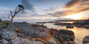 Tasmania, Australia. Binalong Bay, Bay of Fires at Sunrise by Matteo Colombo