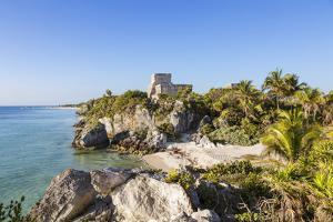 The mayan ruins of Tulum, Mexico by Matteo Colombo