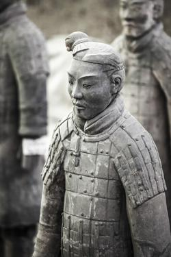 Xian, Shaanxi, China. Close Up of One of the Many Warriors of the Terracotta Army (Majong) by Matteo Colombo