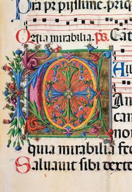 Psalter with Hymns, illuminated manuscript by Matteo di Giovanni, 1474. Osservanza Basilica, Siena by Matteo di Giovanni