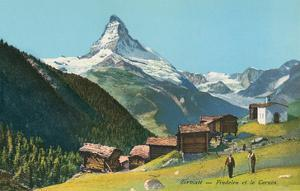 Matterhorn, Findelin Glacier, Swiss Alps