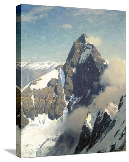 Matterhorn from West-Eugen Bracht-Stretched Canvas