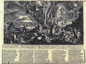 The Witches' Sabbat by Matthäus Merian the Elder