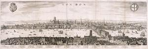 View of London from the South, 1638 by Matthaus Merian