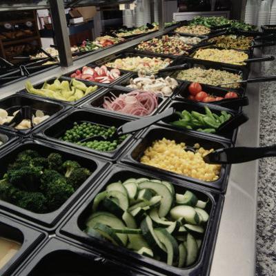 Salad Bar by Matthew Borkoski