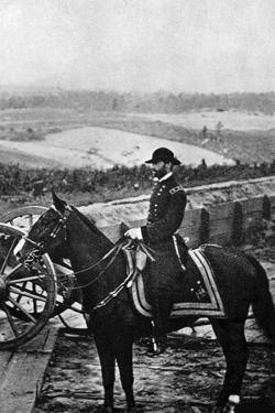 William Tecumseh Sherman, American Soldier, 1864 by Matthew Brady