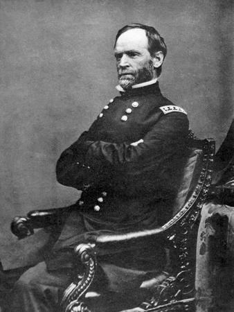 William Tecumseh Sherman, American Soldier, 1869