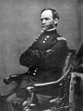 William Tecumseh Sherman, American Soldier, 1869 by Matthew Brady