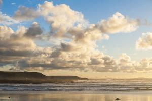 Constantine Bay at Sunset, Cornwall, England, United Kingdom, Europe by Matthew
