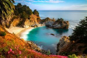 Protected Cove and Mcway Falls by Matthew Crowley Photography