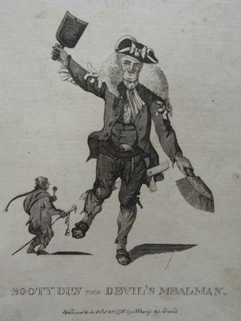 Sooty Dun the Devil's Mealman, 1772