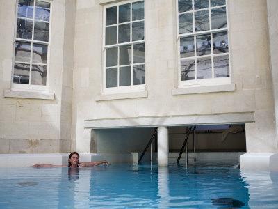 Hot Bath, Thermae Bath Spa, Bath, Avon, England, United Kingdom