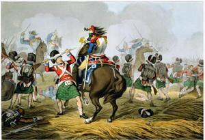 Battle of Waterloo, 1815 (1817) by Matthew Dubourg