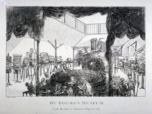 Dubourg's Museum, Grosvenor Street, Westminster, London, 1818 by Matthew Dubourg