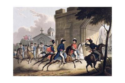 Entrance of Lord Wellington into Salamanca, May 20th 1813' 1815
