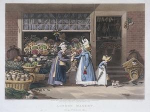 London Market, a Fruit Seller, 1822 by Matthew Dubourg