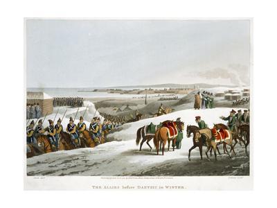 'The Allies before Dantzic in Winter', 1818