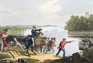 'The Battle of Waterloo Decided by the Duke of Wellington', 1815 (1816) by Matthew Dubourg