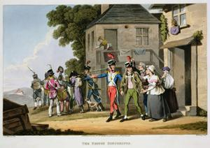 'The French Conscripts', 1817 by Matthew Dubourg