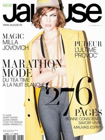 Jalouse, July-August 2011 - Hailey Gates