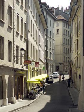 Street Scenes from Geneva Old Town, Geneva, Switzerland, Europe by Matthew Frost