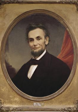 Portrait of Abraham Lincoln by Matthew Henry Wilson