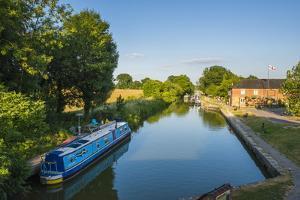 Kennet and Avon Canal at Pewsey Near Marlborough, Wiltshire, England, United Kingdom, Europe by Matthew