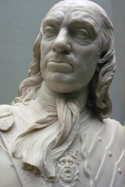 Bust of Lord Protector Oliver Cromwell, 1860. Artist: Matthew Noble by Matthew Noble