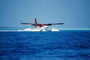 Seaplane Landing by Matthew Oldfield