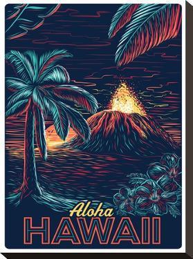 Hawaiinight by Matthew Schnepf