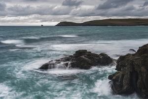 Trevose Head, Seen from Constantine Bay, Cornwall, England, United Kingdom, Europe by Matthew