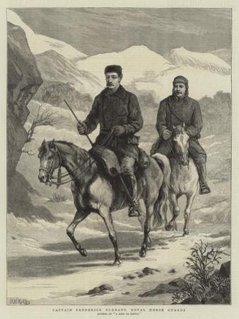 Captain Frederick Burnaby, Royal Horse Guards