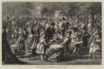 May Fair, a Sketch in Hyde Park