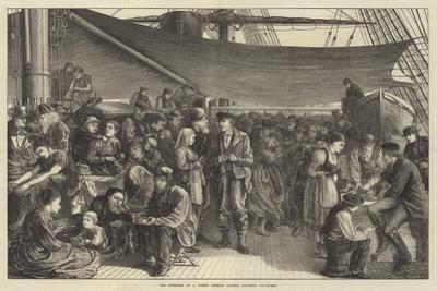 The Steerage of a North German Lloyd's Atlantic Steam-Ship