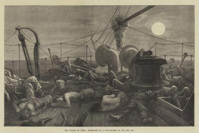 The Voyage to China, Forecastle of a Mail-Steamer in the Red Sea